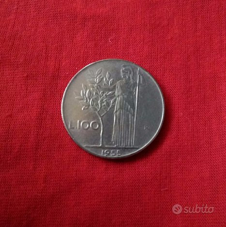 100 Lire Italia Repubblica del 1955
