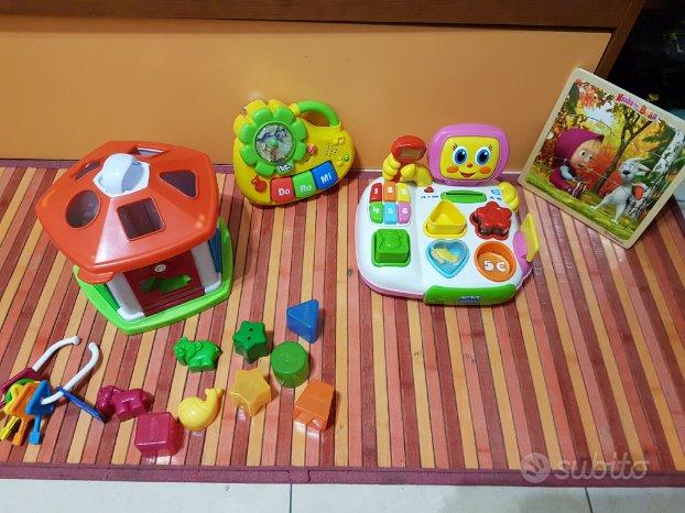 Giochi prima infanzia 6-12 mesi
