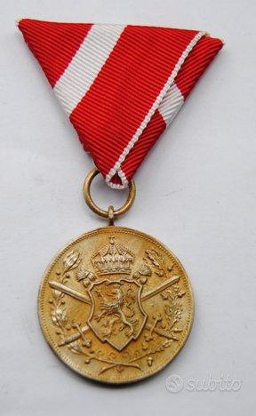Medaglia Regno di Bulgaria ai combattenti 1915-18