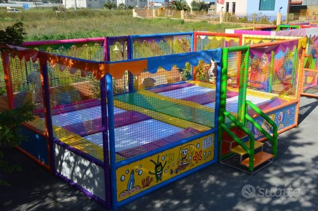 Tappeto Elastico per bambini ad uso professionale