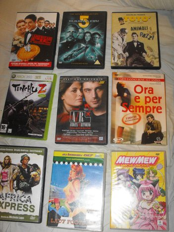 8 FILM dvd in Blocco