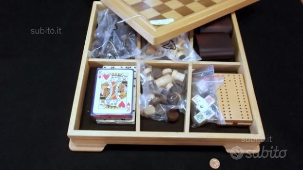 Scacchiera set giochi Italfama