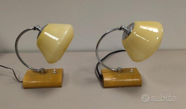 Coppia lampade da tavolo dèco anni '30