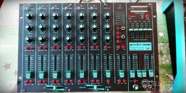 Mixer Professionale Peecker Sound JA/8