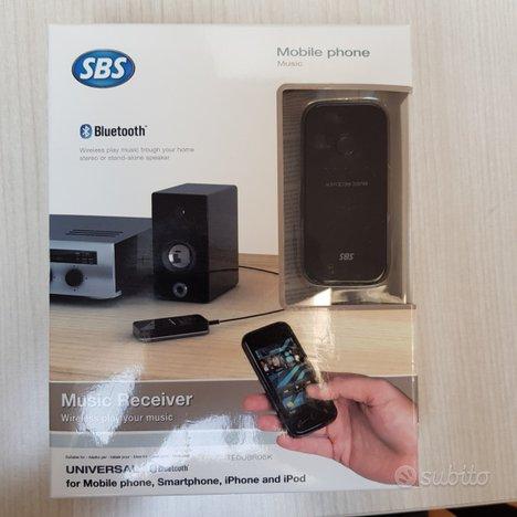 SBS Ricevitore Bluetooth per ascolto Musica