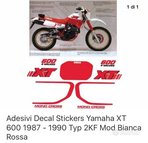 adesivi grafiche yamaha xt 600 2kf