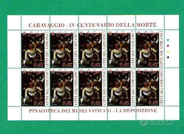 Vat 2010 - IV centenario morte Caravaggio