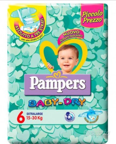 Pannolini pampers baby dry 6