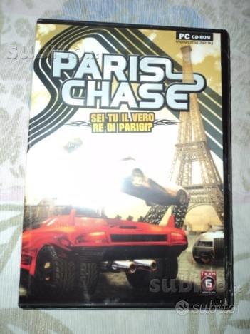 Videogioco per PC Paris Chase NUOVO