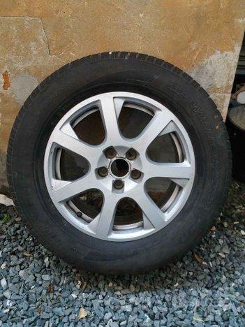 "Set cerchi in lega originali con gomme 17"" Audi Q5"