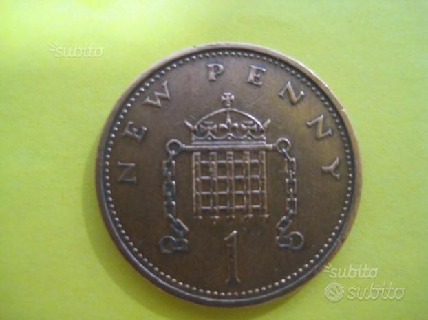 1 New Penny 1971 Inglese bronzo Rif. 212
