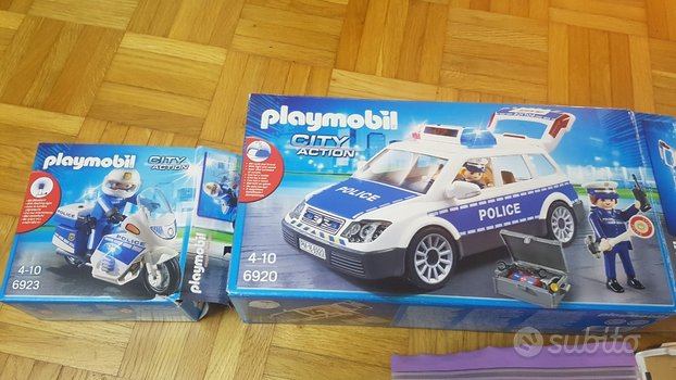 Playmobil 2 scatole complete