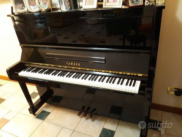 Pianoforte verticale yamaha disclavier mx100a
