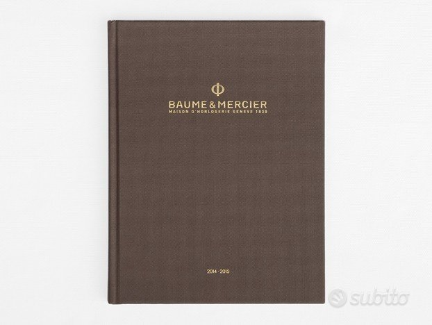 Catalogo Baume & Mercier 2014-2015 ITA (NUOVO)