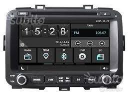Autoradio navigatore kia carens dal 2013 hd