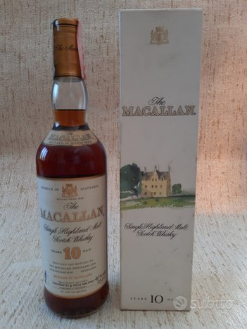 Whisky macallan 10 years old by giovinetti&figli