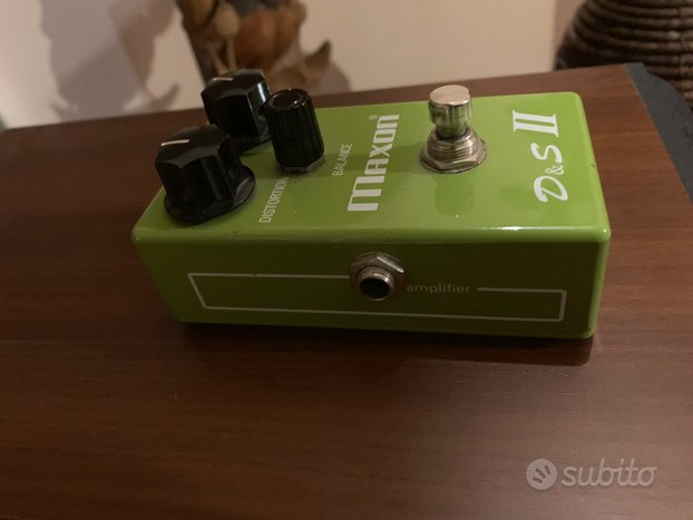 Maxon D&S Distortion Sustainer pedale chitarra