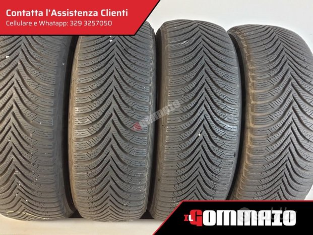 Gomme usate M 195 60 R 16 MICHELIN INVERNALI