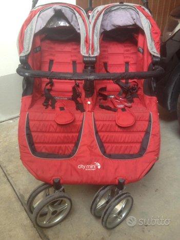 Passeggino Gemellare Baby Jogger City Mini Double