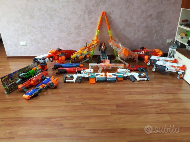 Nerf N-Strike Blaster lotto arsenale pistole fucil