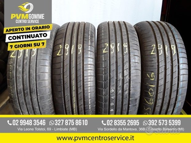 Gomme usate 205 60 16 goodyear estive