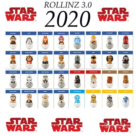 Rollinz Star Wars Esselunga 3.0 COMPLETA