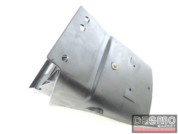 Porta targa plastica sottosella ducati ss 600 900