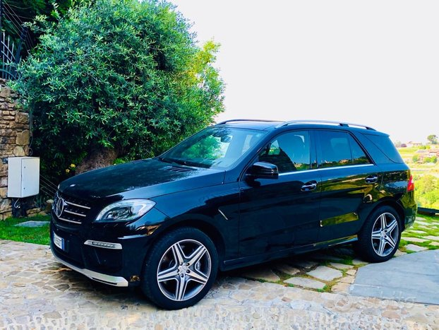 Ml 63 amg performance pack full garanzia