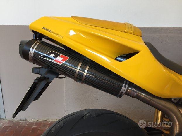 QD scarico completo 52mm Ducati 748 916 996 998