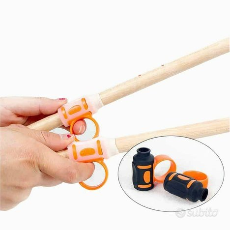 Solo drum stick aid