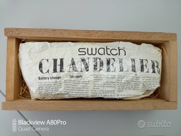 Swatch Chandelier Christmas 92