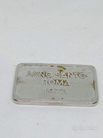 Lingotto in argento 999