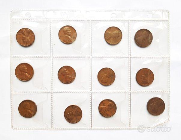 12 penny 1 cent dollaro usa 1934 - 1967