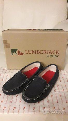 Mocassini scarpe Lumberjack da bambino nuove