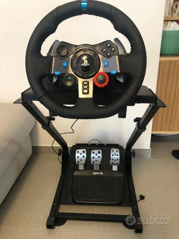 Logitech G29 Driving Force con supporto