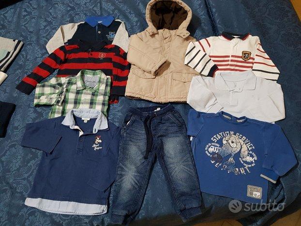 Abbigliamento autunno inverno bambino 24 mesi