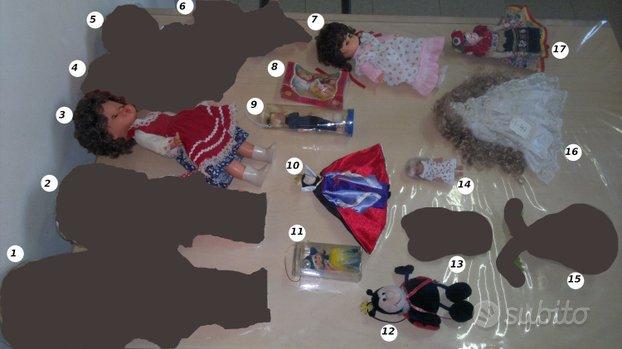 BAMBOLE bambolotti peluche pupazzi giocattoli