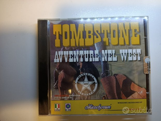 PC Game Tombstone (2002) nuovo