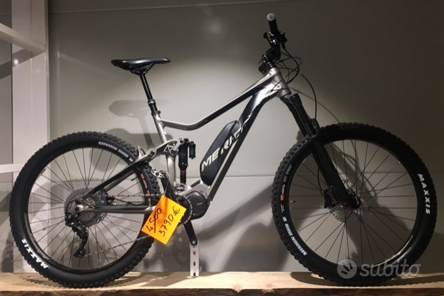 Ebike mtb enduro merida e-one sixty