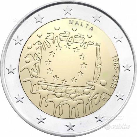 Monete 2 euro commemorativi circolati di