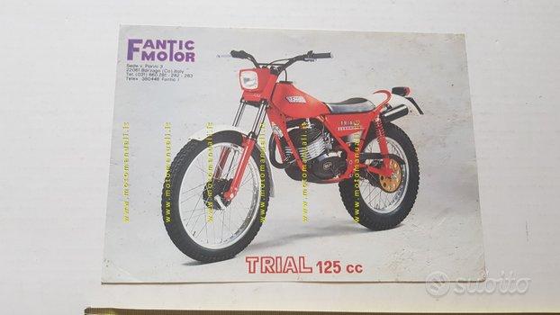 Fantic Motor Trial 125 1982 depliant originale