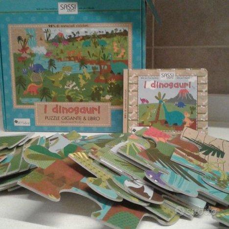 Puzzle dinosauri 35 pezzi giganti