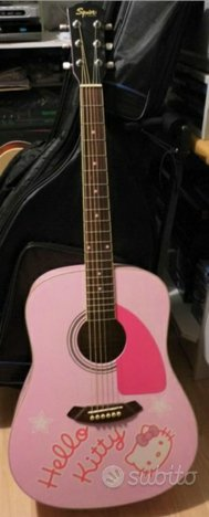 Chitarra Acustica HELLO KITTY Squier by Fender