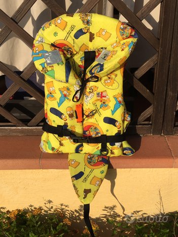 Giubbotto salvataggio omologato bambino taglia XS