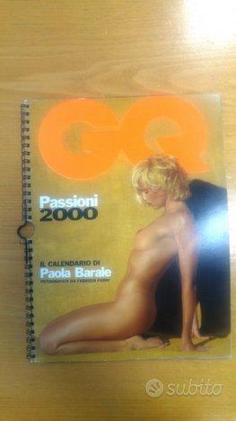 Calendario erotico Paola Barale 2000