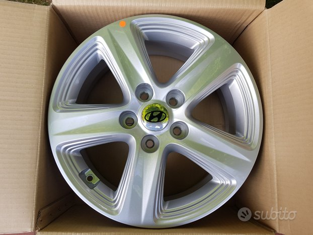 Cerchi Nuovi 16 Hyundai i30 Kona ix20 Tucson i