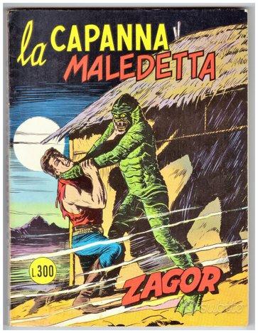 Zagor zenith 163 la capanna maledetta lire 300