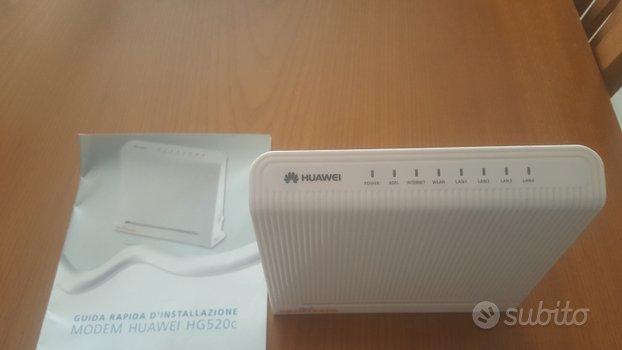 Modem router adsl Huawei perfettamente funzionante