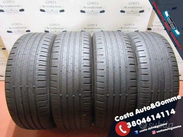 Gomme 215 55 17 Continental 80% 215 55 R17
