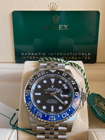 Rolex gmt 126710blnr batman